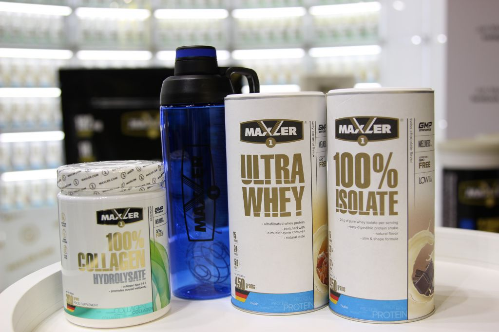 Maxler announced new products at FIBO Expo